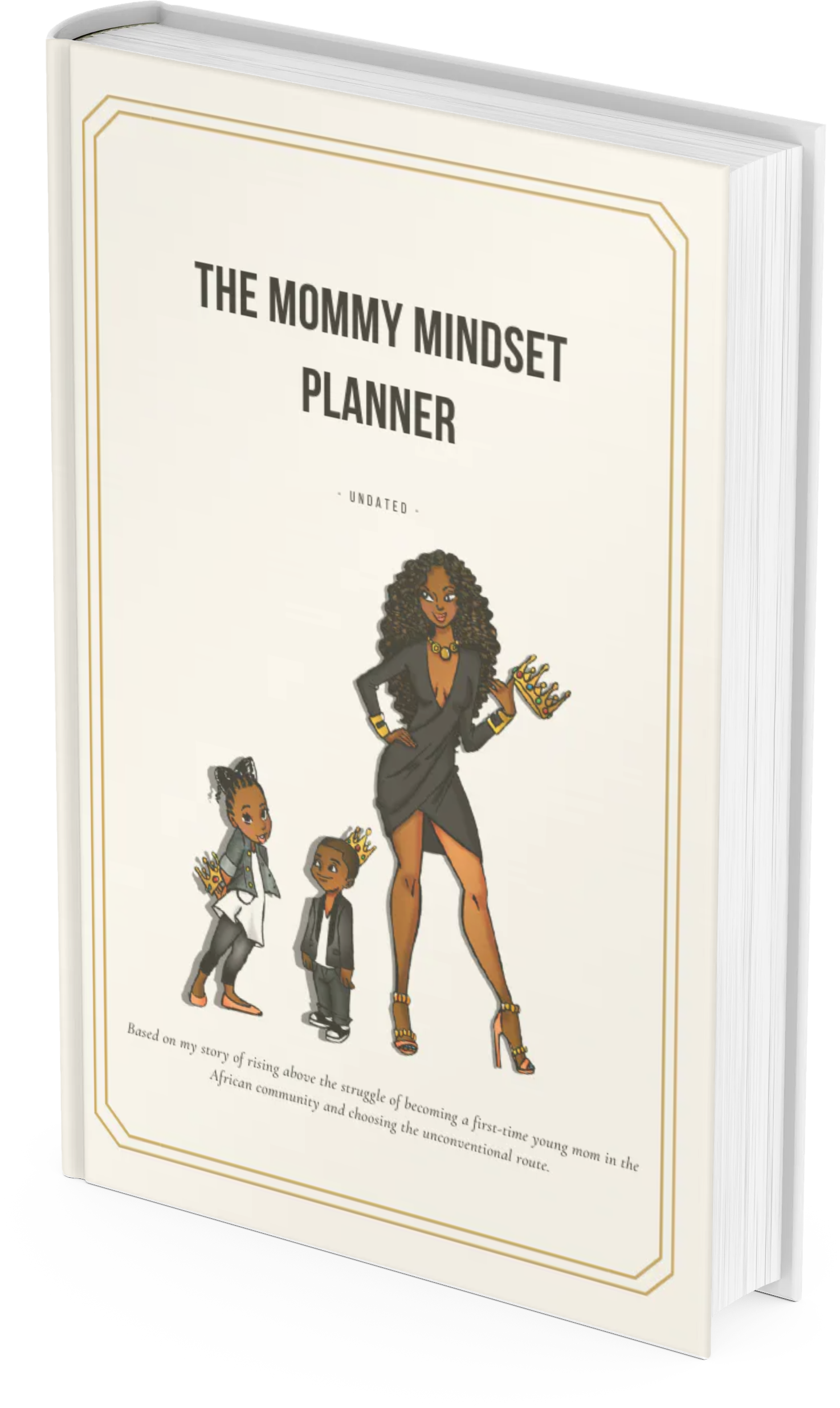Mommy Mindset Planner - Family Caricature