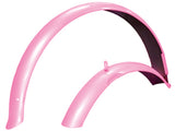 "24"" Pink Front and Rear Fender Set"