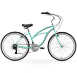 "Firmstrong Urban Lady 26"" 21 Speed Beach Cruiser Bicycle"