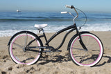 "Firmstrong Bella Fashionista 3 Speed - Women's 26"" Beach Cruiser Bike"