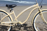 "Firmstrong Bella Classic 3 Speed - Women's 26"" Beach Cruiser Bike"