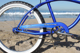 "Firmstrong Urban Man Single Speed - Men's 24"" Beach Cruiser Bike"
