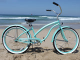 "Firmstrong Bella Classic Single Speed - Women's 26"" Beach Cruiser Bike"