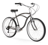 "Firmstrong Urban Man 26"" 21 Speed Beach Cruiser Bicycle"