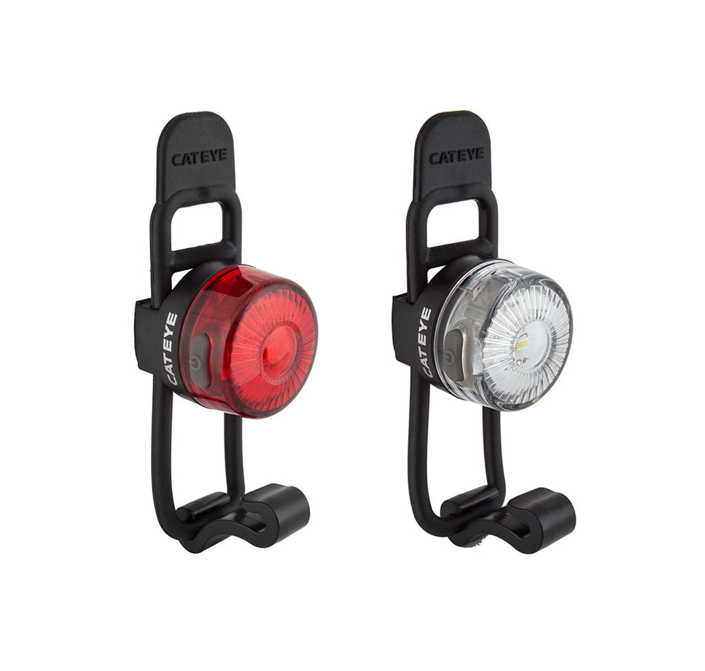 Cateye Combo Loop USB Rechargeable Safety Light Set