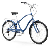 "Firmstrong ANYjourney Men's 26"" 7 Speed, Navy Blue"