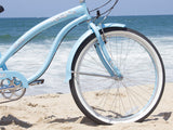 "Firmstrong Bella Classic 7 Speed - Women's 26"" Beach Cruiser Bike"