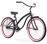 "Firmstrong Bella Fashionista Single Speed - Women's 26"" Beach Cruiser Bike"
