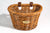 D-Shape Rattan Basket
