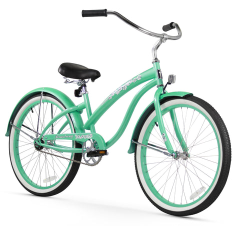 "Firmstrong Bella Classic Single Speed - Women's 24"" Beach Cruiser Bike"