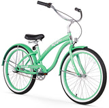 "Firmstrong Bella Classic 3 Speed - Women's 24"" Beach Cruiser Bike"