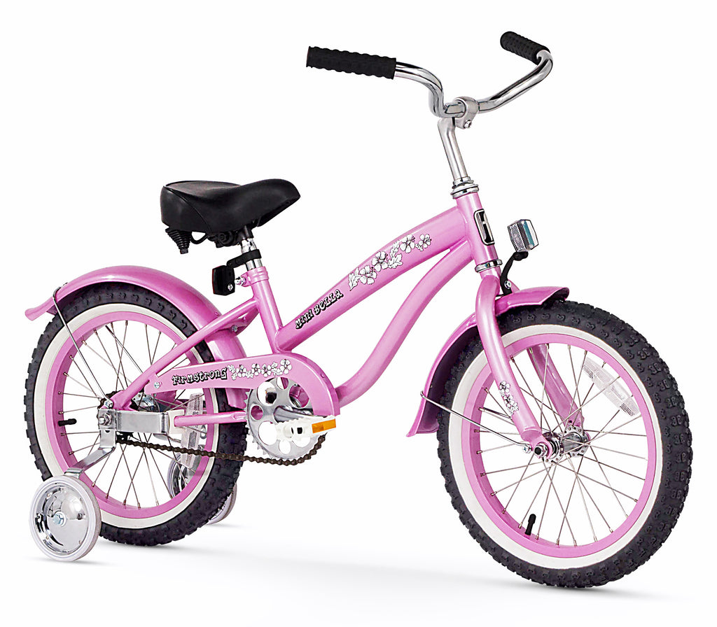 Firmstrong Mini Bella Girl 16 Beach Cruiser Bicycle W Training Wheels Firmstrong Bikes