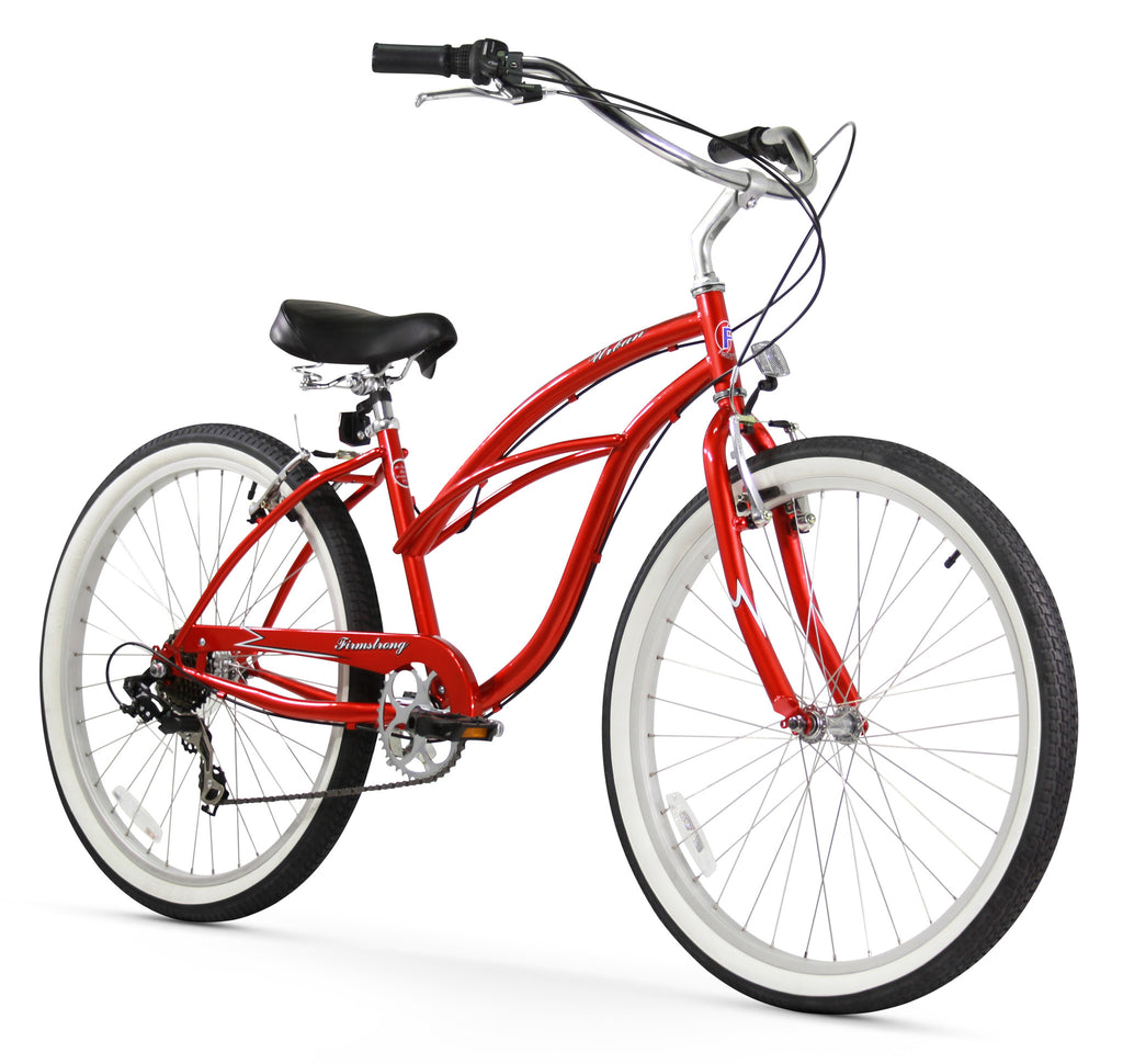 "Firmstrong Urban Lady 7 Speed - Women's 26"" Beach Cruiser Bike"
