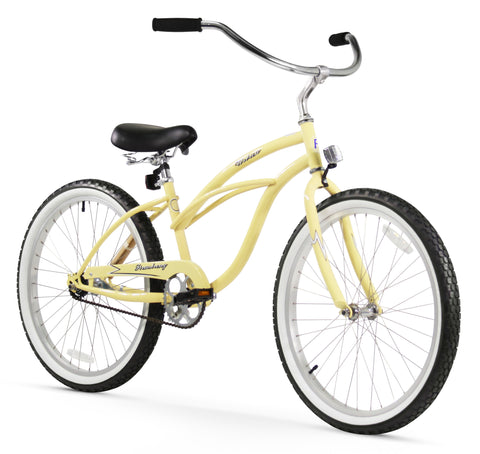 "Firmstrong Urban Lady Single Speed - Women's 24"" Beach Cruiser Bike"