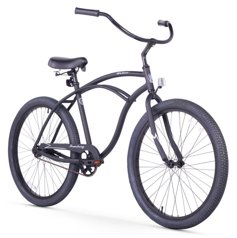 "Firmstrong Urban Man Alloy Single Speed - Men's 26"" Beach Cruiser Bike"