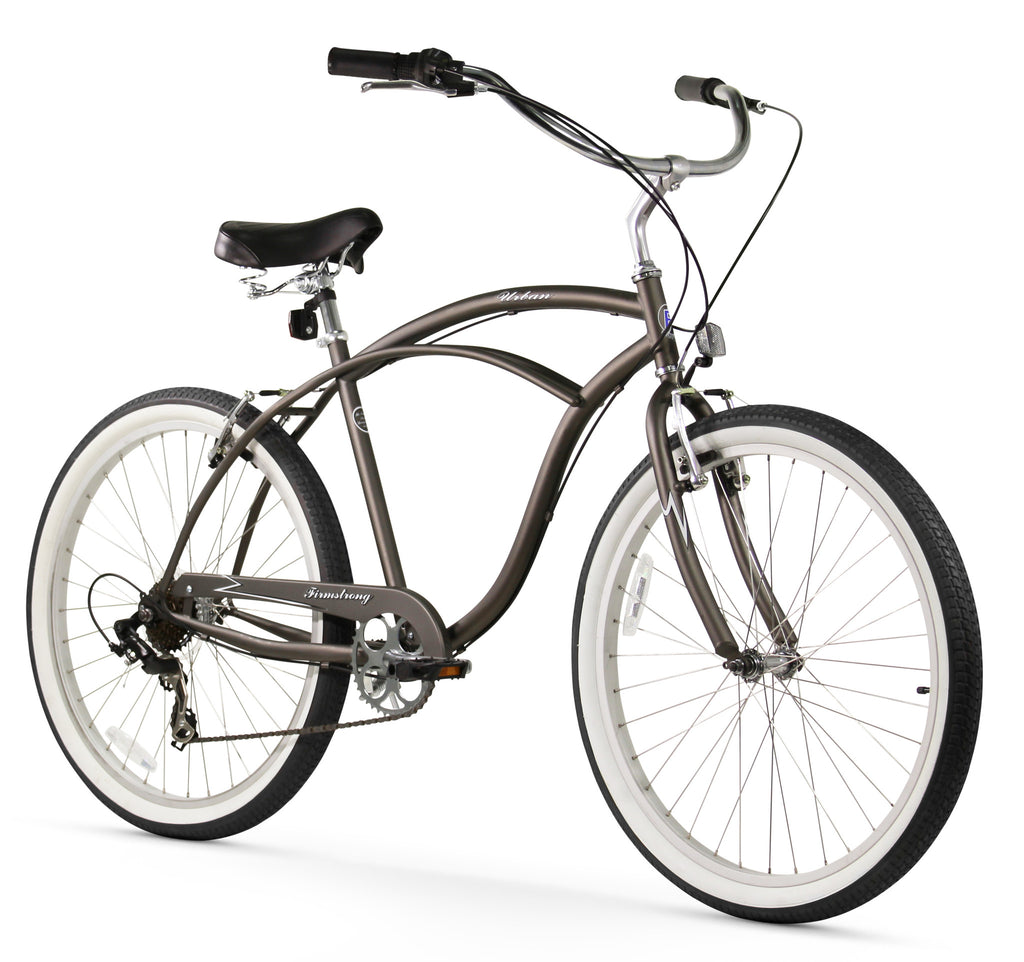 Firmstrong Urban Man 7 Speed Men S 26 Beach Cruiser Bike