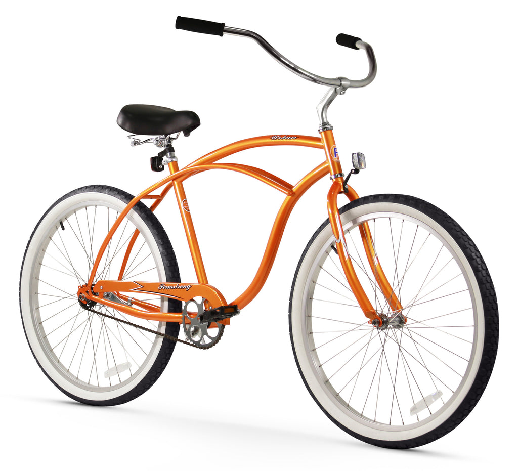 Firmstrong Urban Man Single Speed Men S 26 Beach Cruiser Bike