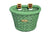 D-Shape Green Basket