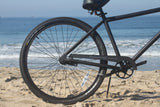 "Firmstrong Black Rock Single Speed, Matte Black - Men's 29"" Beach Cruiser Bike"