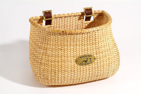 Nantucket Lightship Collection Wicker Basket - Adult Size
