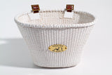 Oval White Basket