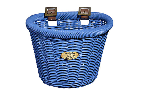 Nantucket Gull & Buoy Collection Wicker Baskets - Child Size