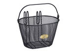 Mesh Wire Charcoal Gray Basket