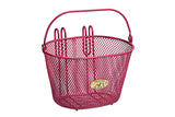 Mesh Wire Pink Basket