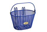 Mesh Wire Royal Blue Basket