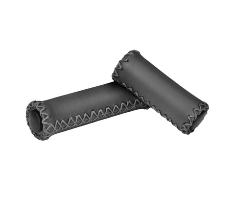 Leather Handlebar Grips - Seven Speed