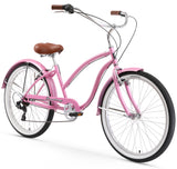 "Firmstrong Chief Lady 7 Speed - Women's 26"" Beach Cruiser Bike"