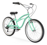 "Firmstrong Urban Lady 7 Speed - Women's 24"" Beach Cruiser Bike"