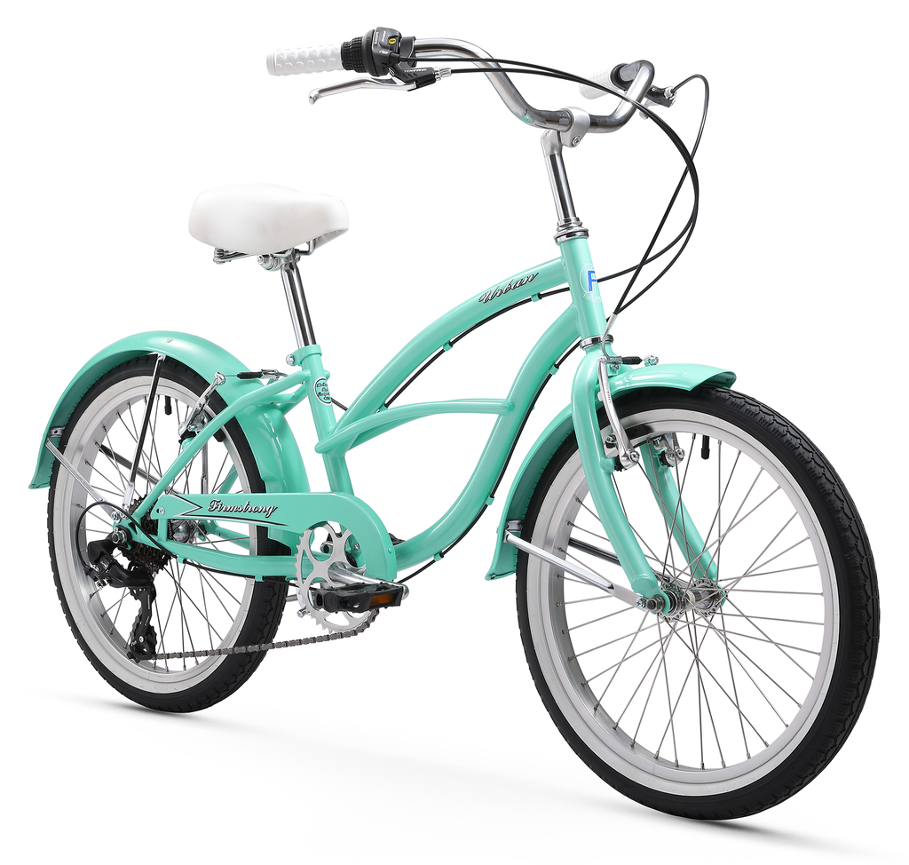 Firmstrong Urban Girl 20 Seven Speed Beach Cruiser Bicycle
