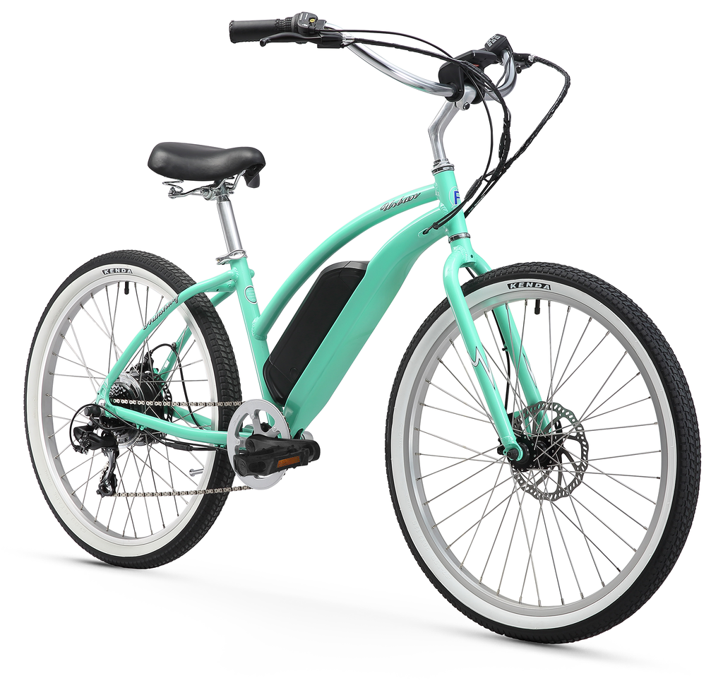 "Firmstrong Urban Lady 26"" 350W Seven Speed Beach Cruiser Electric Bicycle"
