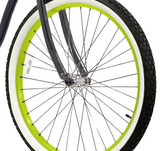 Lime Green With Black Spokes