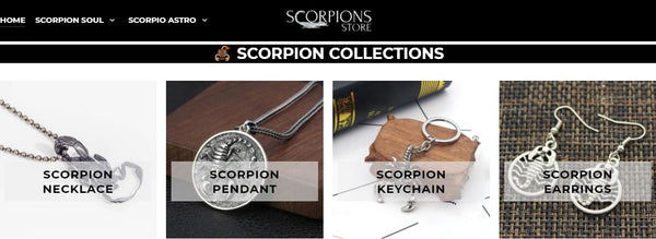 Scorpions Store Collection