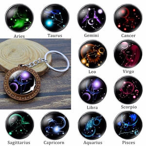 Scorpio Constellation Keyring Collection 12 signs