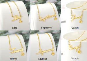 Scorpio Necklace Collection Zodiac Signs