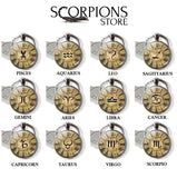 Scorpio Zodiac Keychain Collection