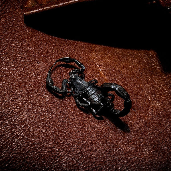 Scorpion Pendant Silver gorgeous black