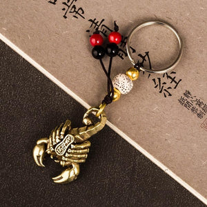 Supreme Scorpion Keychain