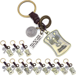 Vintage Scorpio Keyring Collection