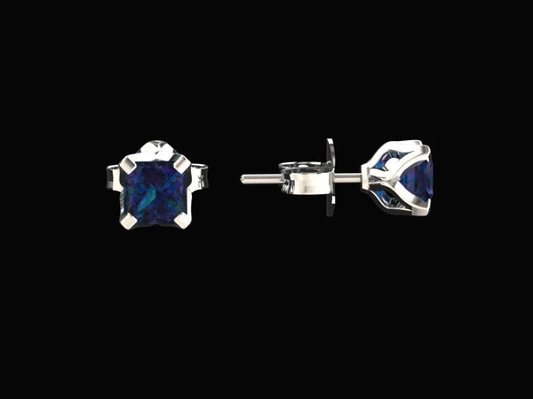 il silver color stud change earrings posts studs listing sterling june alexandrite
