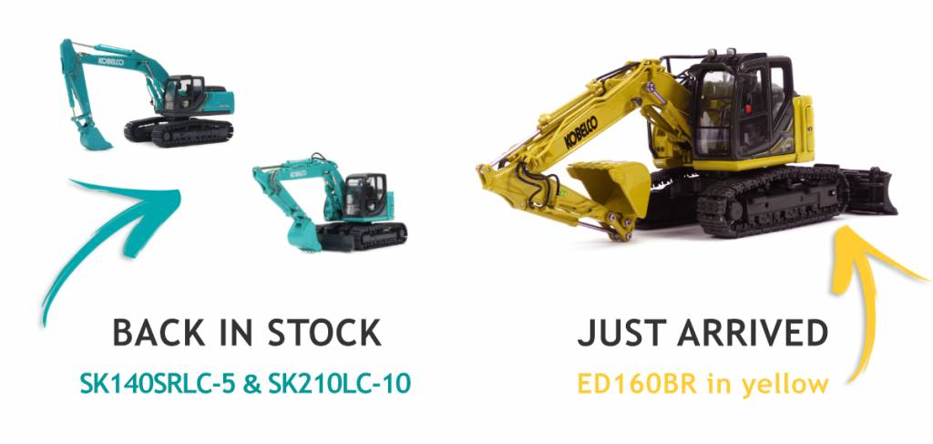 Models back in stock for Christmas - buy now while stocks last