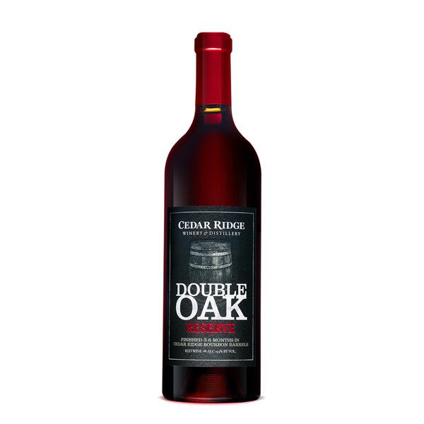 Cedar Ridge Double Oak Reserve wine