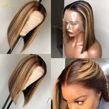 Load image into Gallery viewer, Brow Lace Front Human Hair Wigs