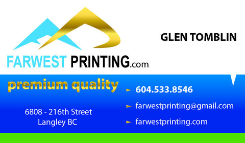 BUSINESS CARDS  (Full Colour Printing on back FREE)