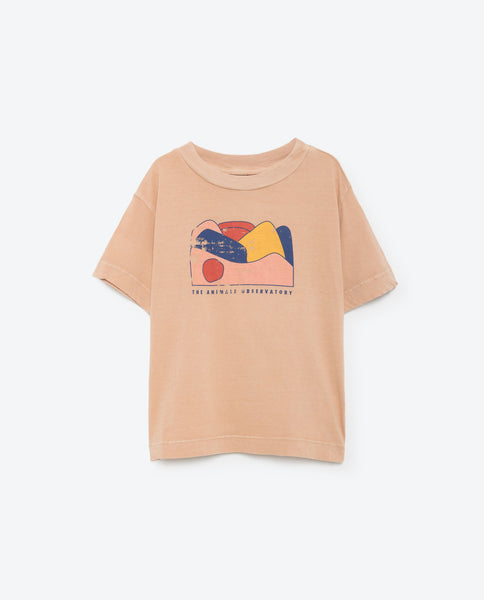 The Animals Observatory Rooster Tee - Dust Pink