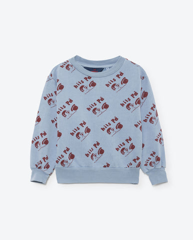 The Animals Observatory Bear Sweatshirt - Blue Hills