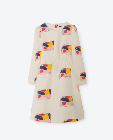 The Animals Observatory Dolphin Dress - All Over Landscape